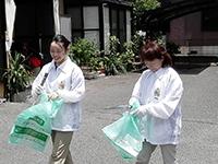 地域清掃-(2)